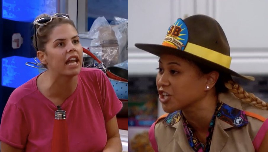 """""""Can I finish?!""""-#BBElena  Guess that's a NO. #BB19 https://t.co/hSBSv..."""
