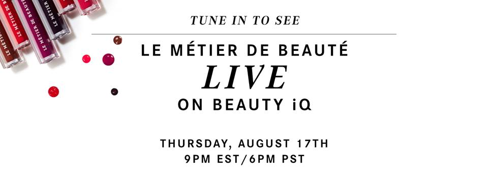 We're LIVE on @beautyiQ with @BeauteProfessor & Hylton Lea, as @EliseIvyQVC hosts! Come shop & watch: http://www.qvc.com/content/shop-beauty-iq.html … XO