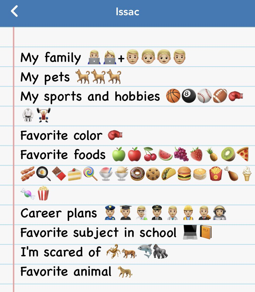 Some of our emoji bios made in @Seesaw today!  #turner202strong #edtech <br>http://pic.twitter.com/uezYeiy5mu