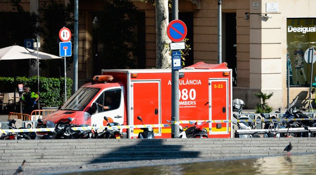 UPDATE: A van plowed into a Barcelona tourist spot, killing multiple p...