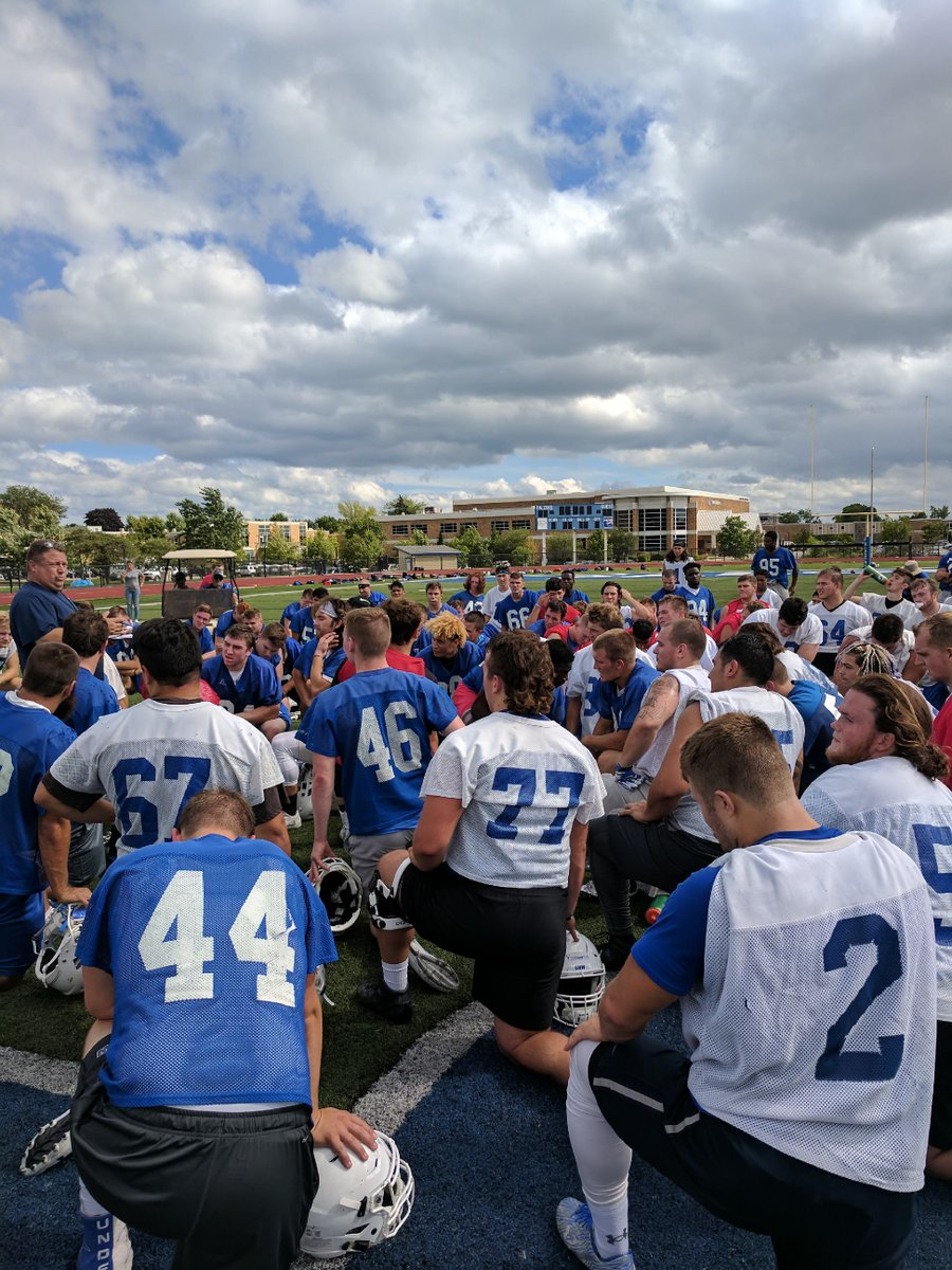 It was great to see the guys back on the field today! This squad is going to do some special things!! #PRIDE #falconsoar<br>http://pic.twitter.com/MISiDw49PV