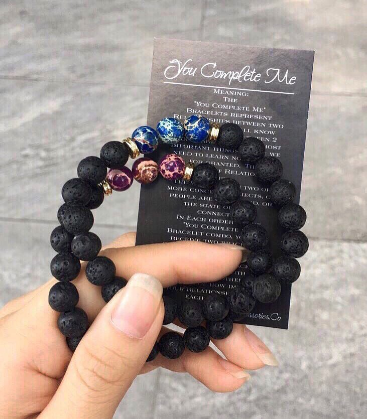 Obsessed with our You Complete Me Bracelets from https://t.co/umKAdwWYVt 💙💜💕