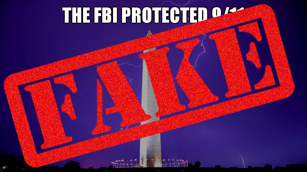 Dubious! The FBI did NOT protect 9/11 #busted #dumpsterfire #botactivity @twitter #bogus #posttruth #wrong #correction #hoax<br>http://pic.twitter.com/H5mummXbVl