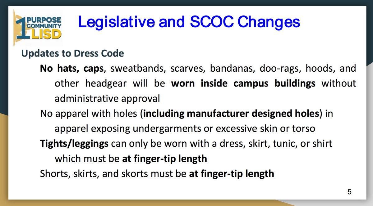 2017-18 Dress Code Updates - Leander Independent School Dis...