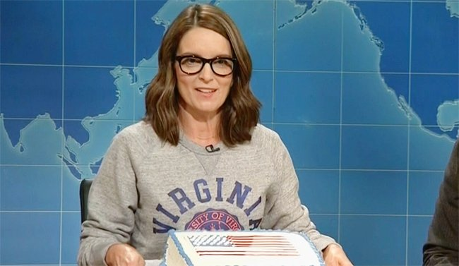 Tina Fey returns to #SNL for a scathing take on Nazis and Trump on #We...