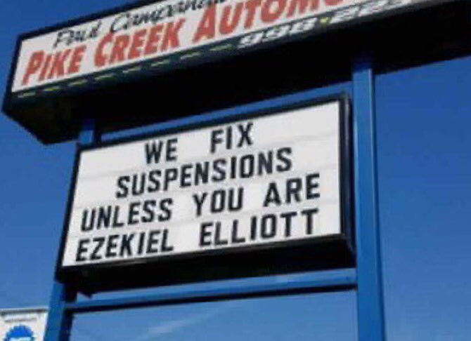 When your local auto shop is clearly owned by a #Giants fan.  #Cowboys #Redskins #Eagles <br>http://pic.twitter.com/OuEjGPxOZt