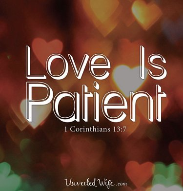 Love is patient :) | #bible #Jesus #Christian <br>http://pic.twitter.com/uEAWRa6Aor