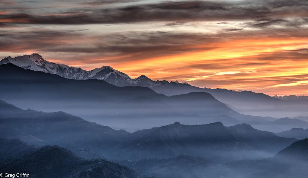 The Annapurna Himalayan Range, #Nepal.  (by Greg Griffin) <br>http://pic.twitter.com/DJiAXs79m6