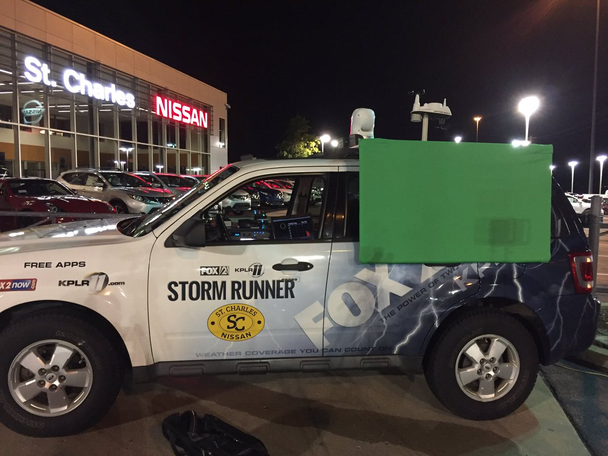 """chris higgins on twitter: """"@fox2now the st charles nissan storm"""