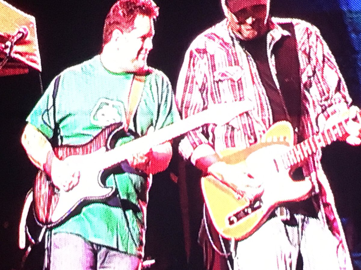 If you&#39;re gonna play in Iowa, gotta have a Pioneer shirt in the band! #alabama #iowastatefair<br>http://pic.twitter.com/nX09aNZpWU