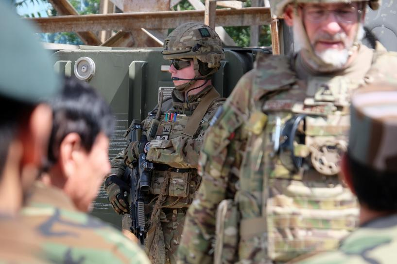 'Guardian angel' need for advisers in Afghanistan drives call for more...
