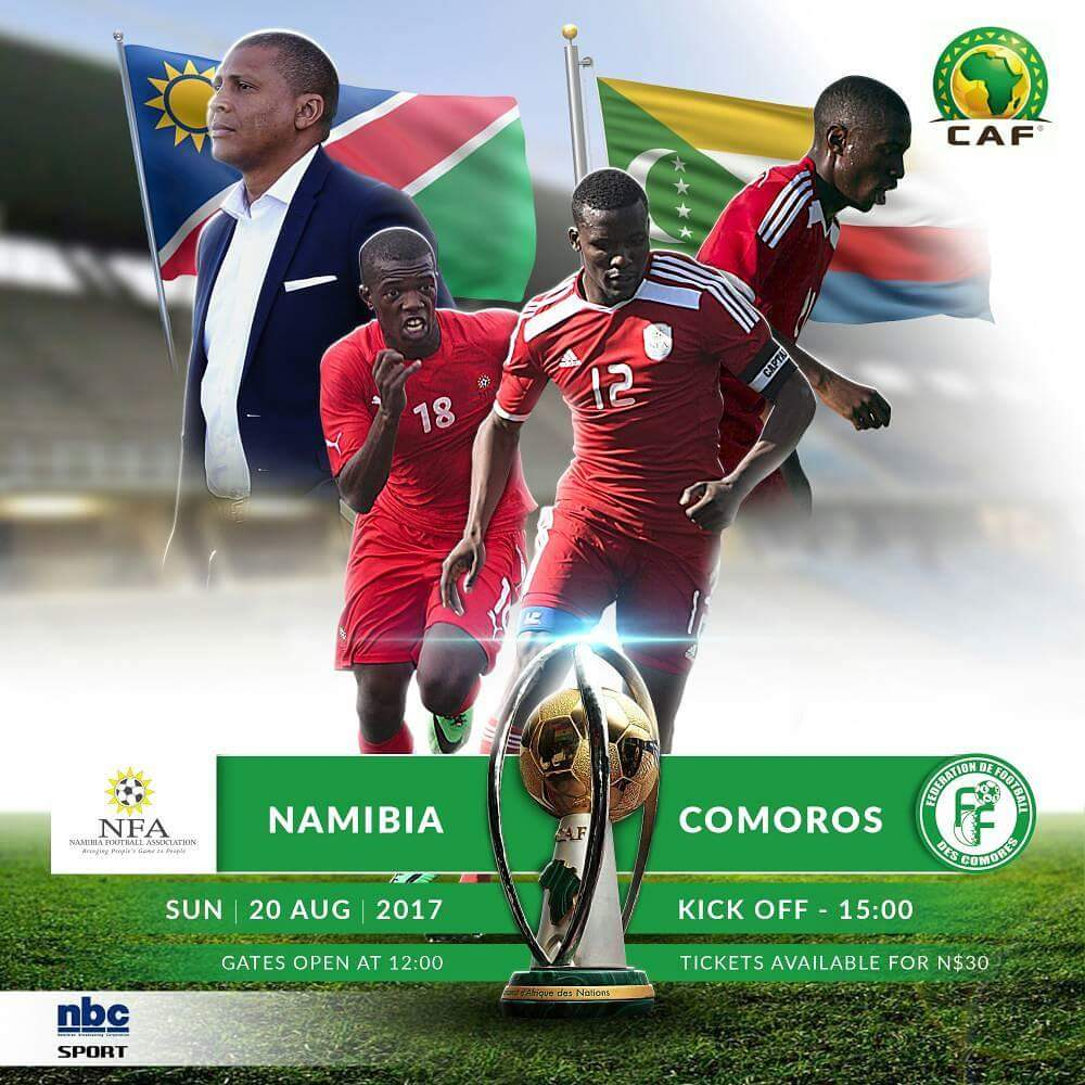 Image result for Namibia vs Comoros team photos