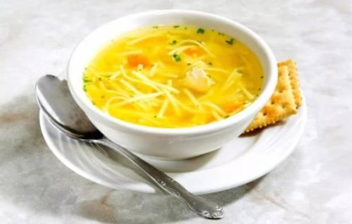 Рецепт супа с плавленными сырками
