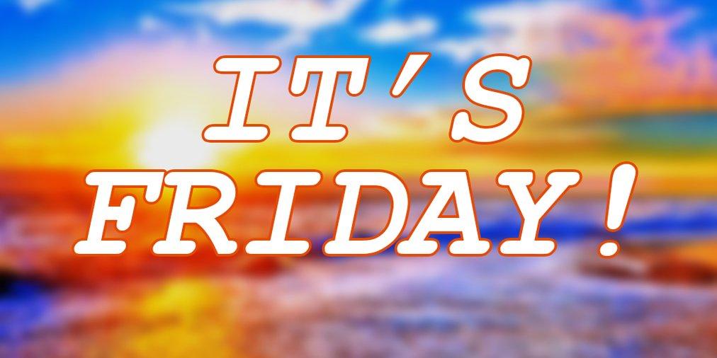 #Friday has arrived! #weekend #fridayfeeling! #weekend #rt #followme #follow #retweet #ff #followfriday #tfb #discount #shop #shopping<br>http://pic.twitter.com/6HIq8btRf1