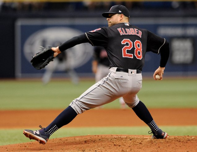 Since coming off the DL on June 1st, Corey Kluber leads the majors wit...