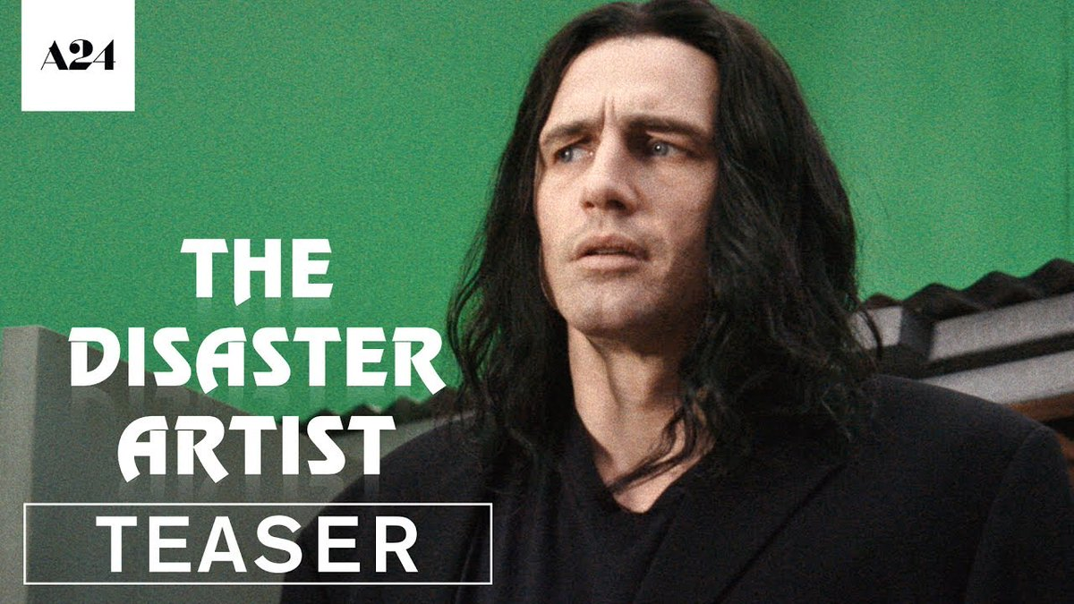 The Disaster Artist | Official Teaser Trailer HD | A24 pqz.me/E9CDg