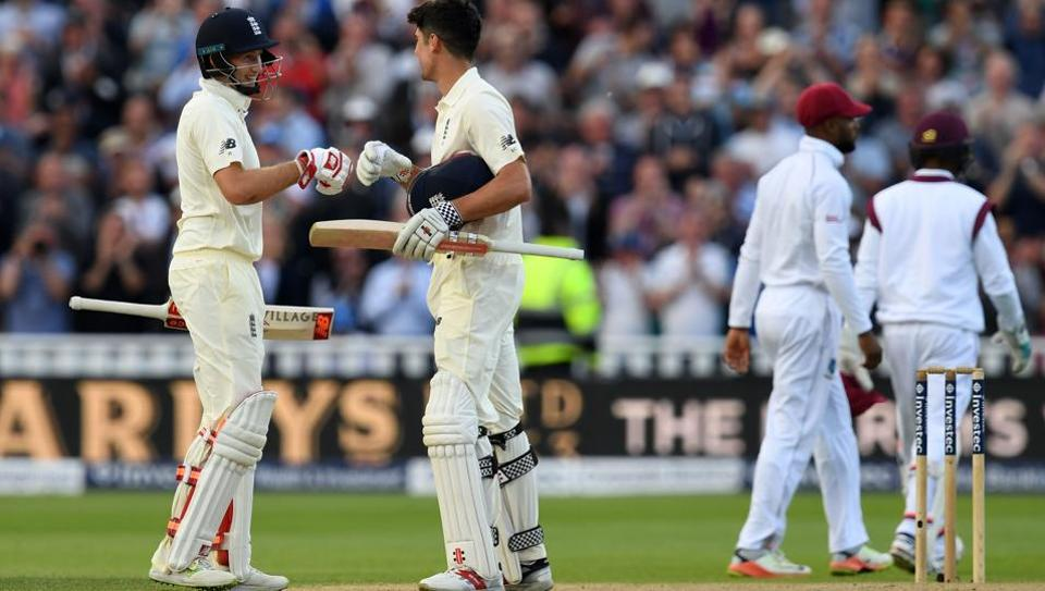 #ENGvWI | Joe Root hails 'ruthless' England after first day-night Test...