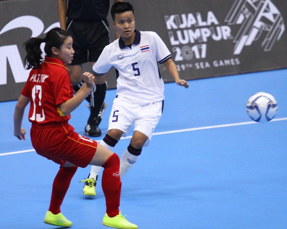 Women&#39;s Futsal #THA  3-1 #VIE #SEAGames2017<br>http://pic.twitter.com/A5sXUBvVYt