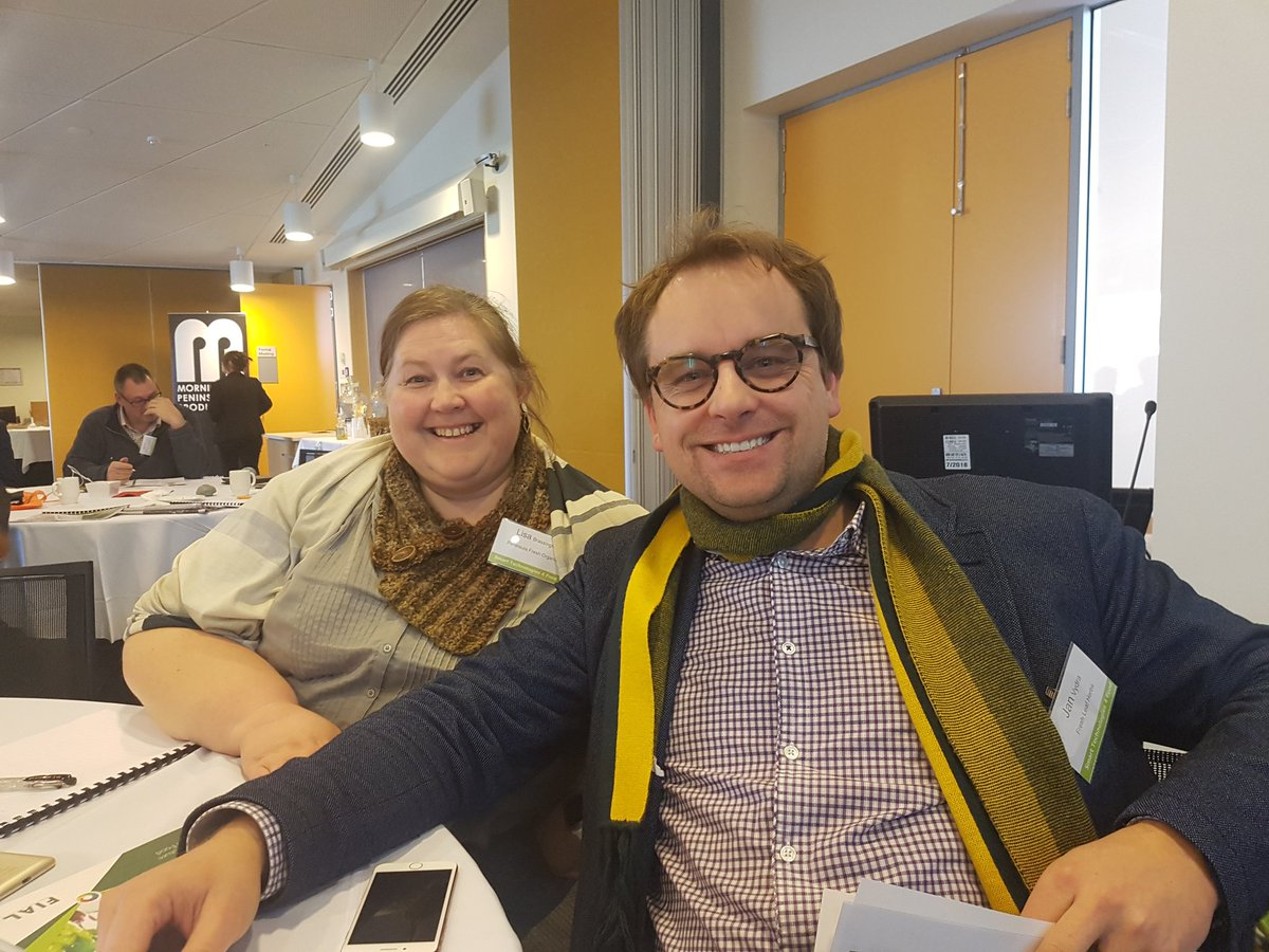 Look who I bumped into ... at Victorian Agribusiness Summit 2017 @AUSVEG @Hort_Au @penfreshorganic @GoodFruitandVeg @GippsNews #VEGETABLES <br>http://pic.twitter.com/YjEfT13ZtF