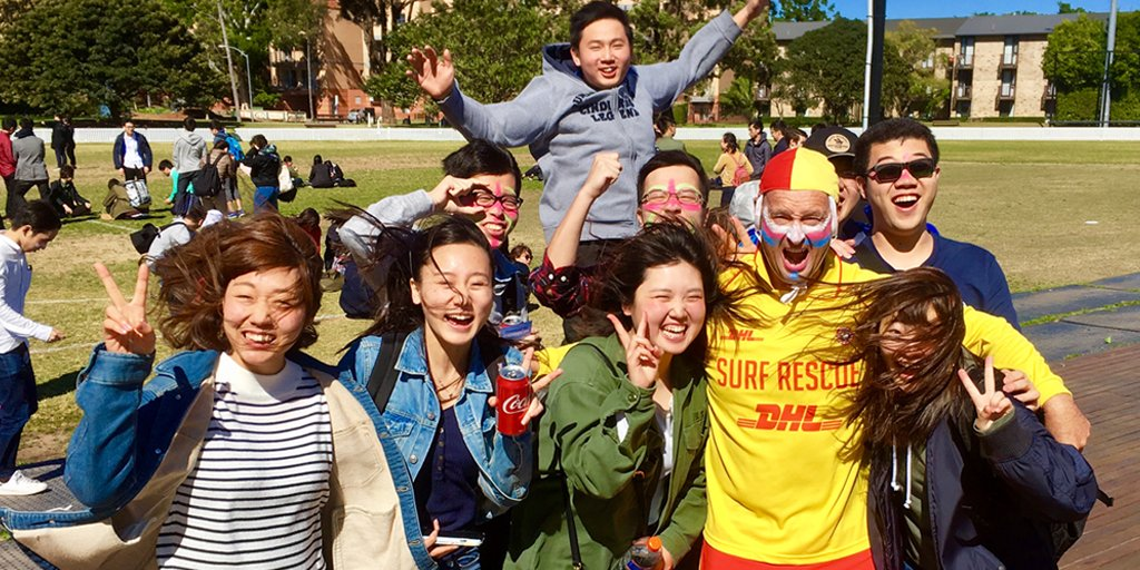 We were at @UNSW today spreading beach s...
