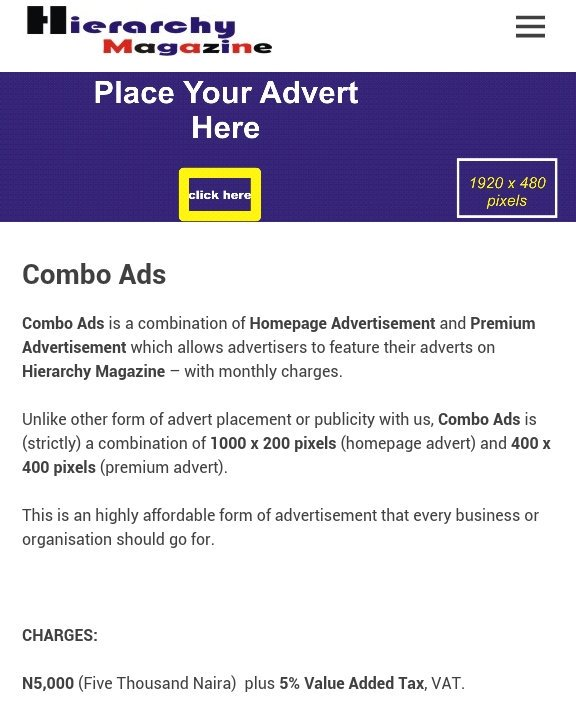 We&#39;re bringing you this jaw-dropping #advertising, #publicity deal  #ComboAds  http:// hierarchymagazine.olemedge.com/combo-ads/  &nbsp;    Referrals via  https:// olemedge.com/10-referrals-c ommission &nbsp; … <br>http://pic.twitter.com/Tku8RfDFVu