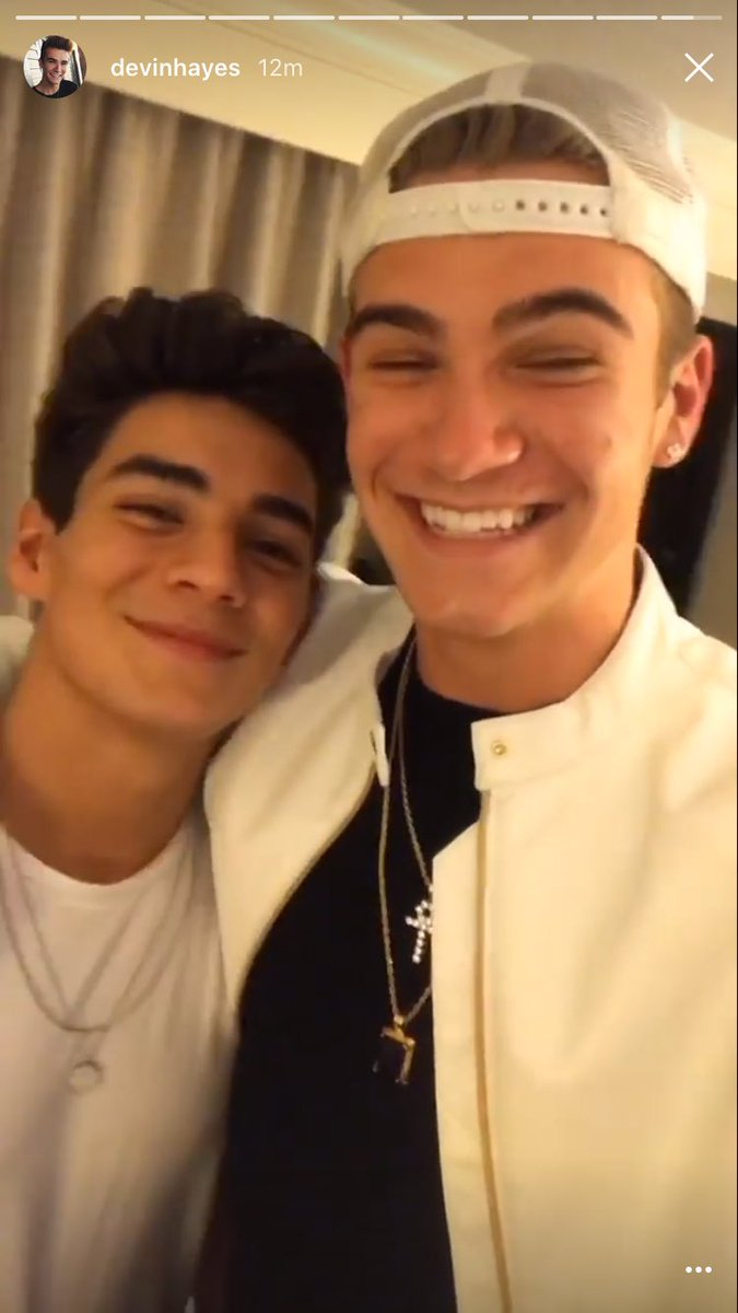 #Dance reunited tonight and I am so happy The smiles tell it all @ItsChancePerez @DevinHayes<br>http://pic.twitter.com/0XjEIjIh18