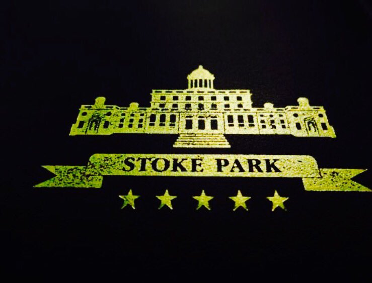 On our way to #Introbiz members fabulous 5star resort @StokePark to showcase latest @crowandjester collection .. http://www. introbiz.co.uk/cardiff-busine ss-networking-events-wales/diary/ &nbsp; … <br>http://pic.twitter.com/1DBPyVtwNt