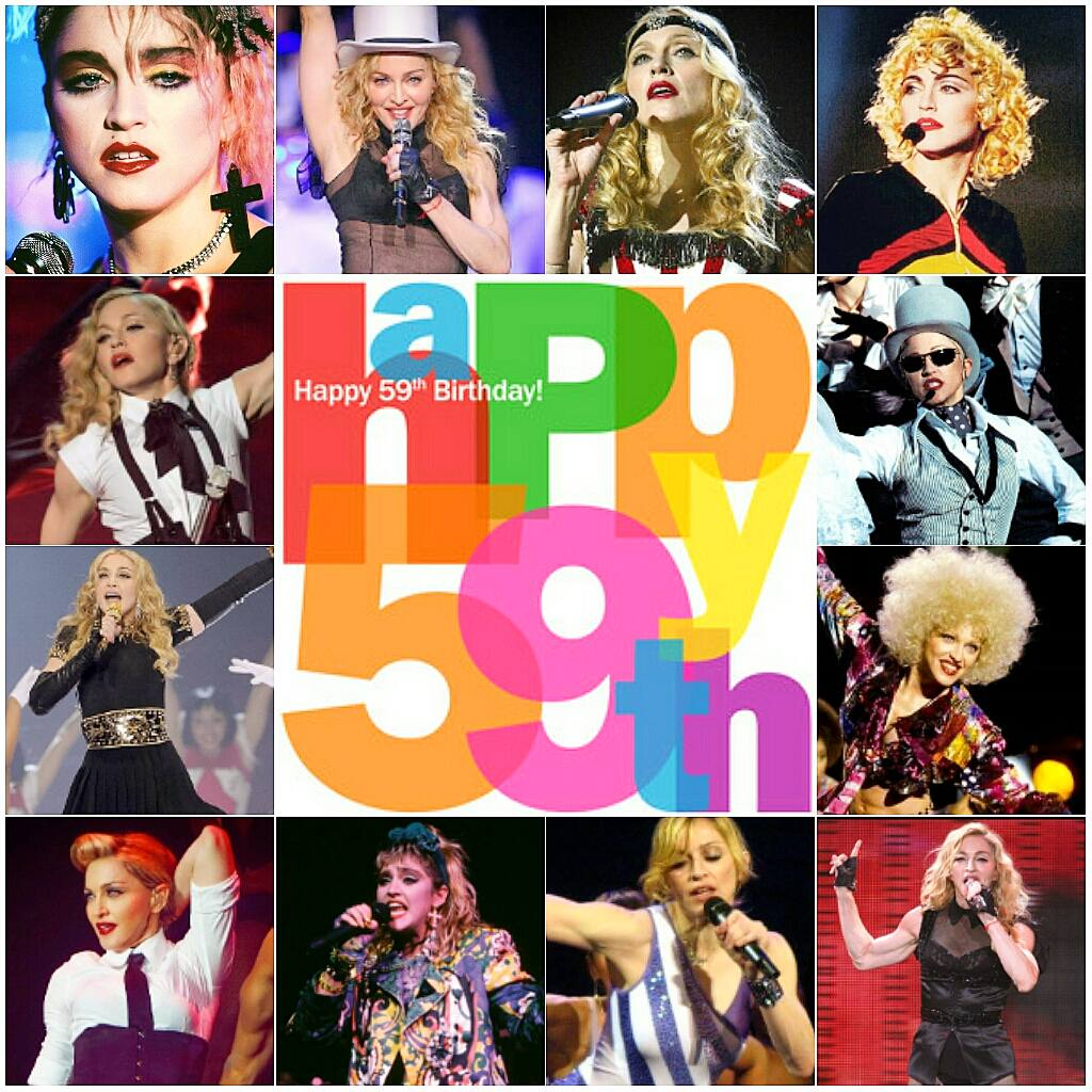 HAPPY BIRTHDAY TO ONE AND ONLY MY IDOL ICONIC LEGENDARY MADONNA ! HAPPY 59TH BIRTHDAY. LONG LIVE THE QUEEN !  #HappyBirthdayMadonna  <br>http://pic.twitter.com/nZYAWstrdx