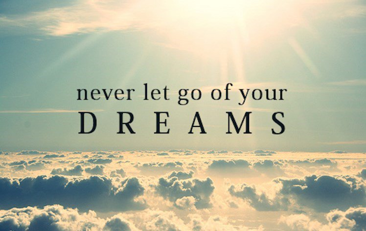 Never let go of your dreams. #MotivationalQuotes #InspirationalQuotes <br>http://pic.twitter.com/UJWNSBjPQT