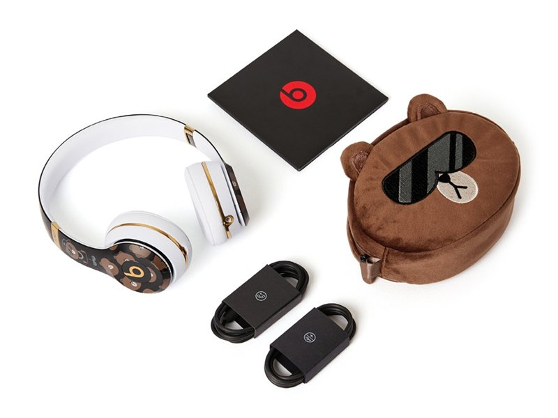 LINE FRIENDS、Beats by Dr.Dreとコラボレーション ブラウンだらけのヘッドフォンをLINE FRIENDS STORE店頭で販売... https://t.co/AoYzk2vwmY