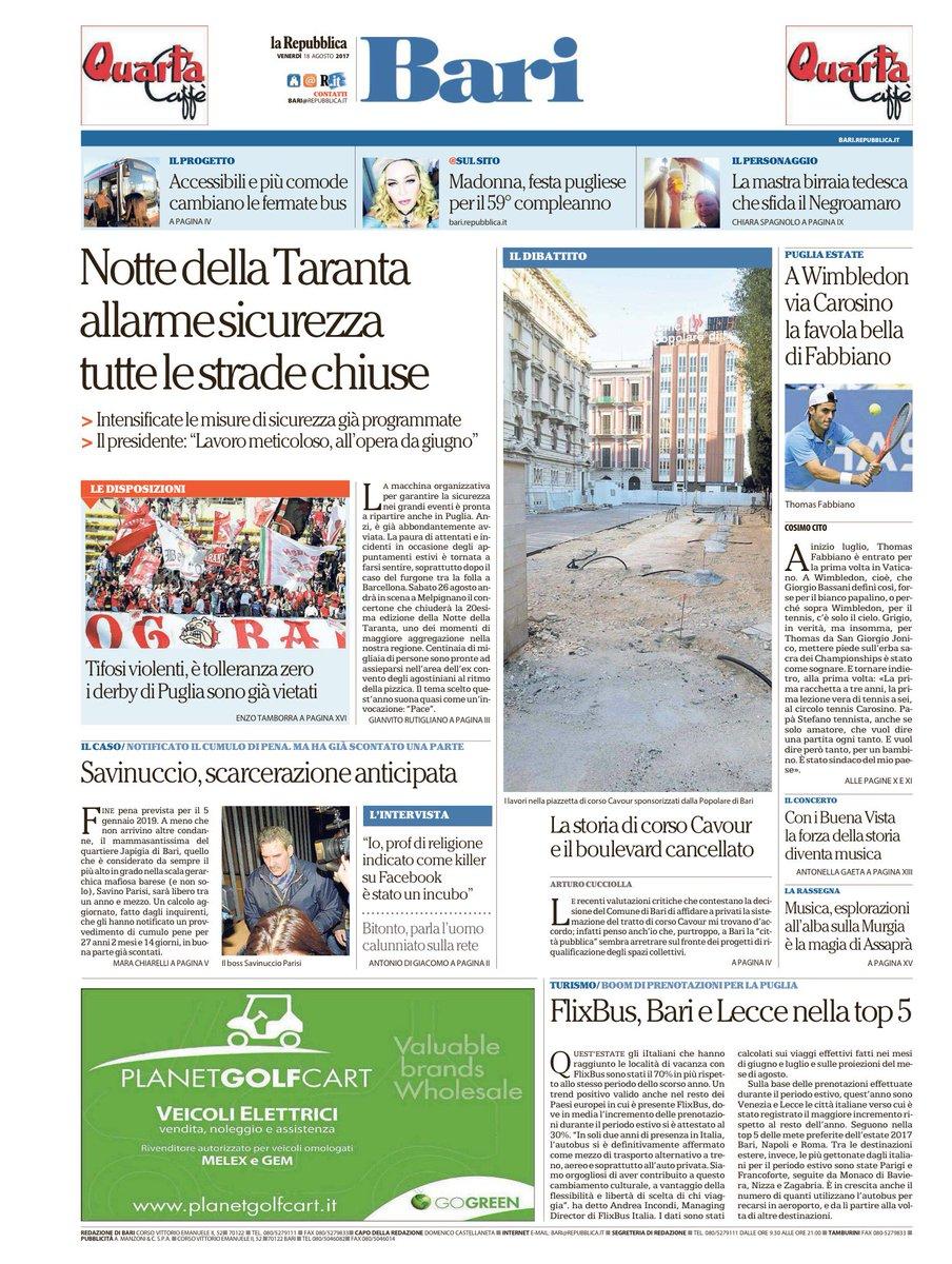 #18agosto le prime pagine dei quotidiani locali #rassegnastampa https:...
