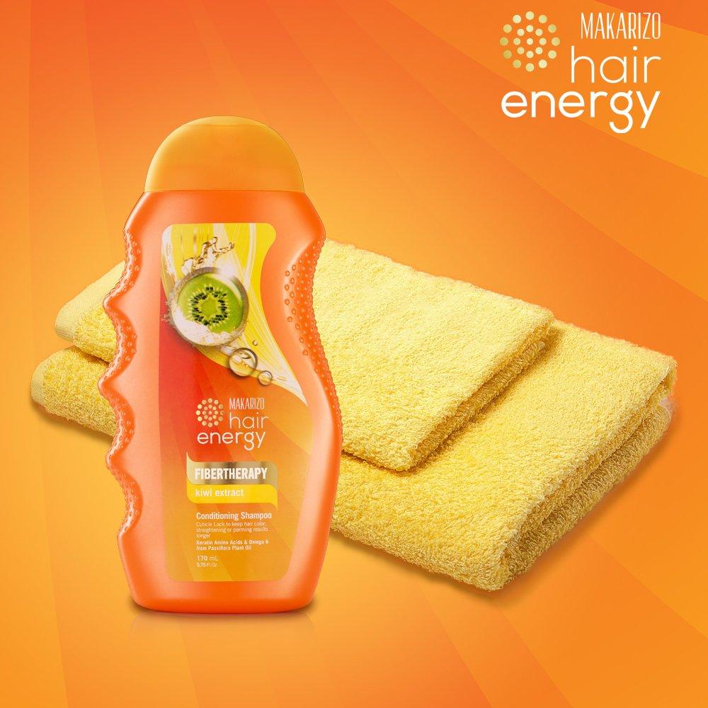 Makarizo Hair Energy Shampoo Sachet Aloe And Melon Extract 6 Sachets Shampo Lemon Source