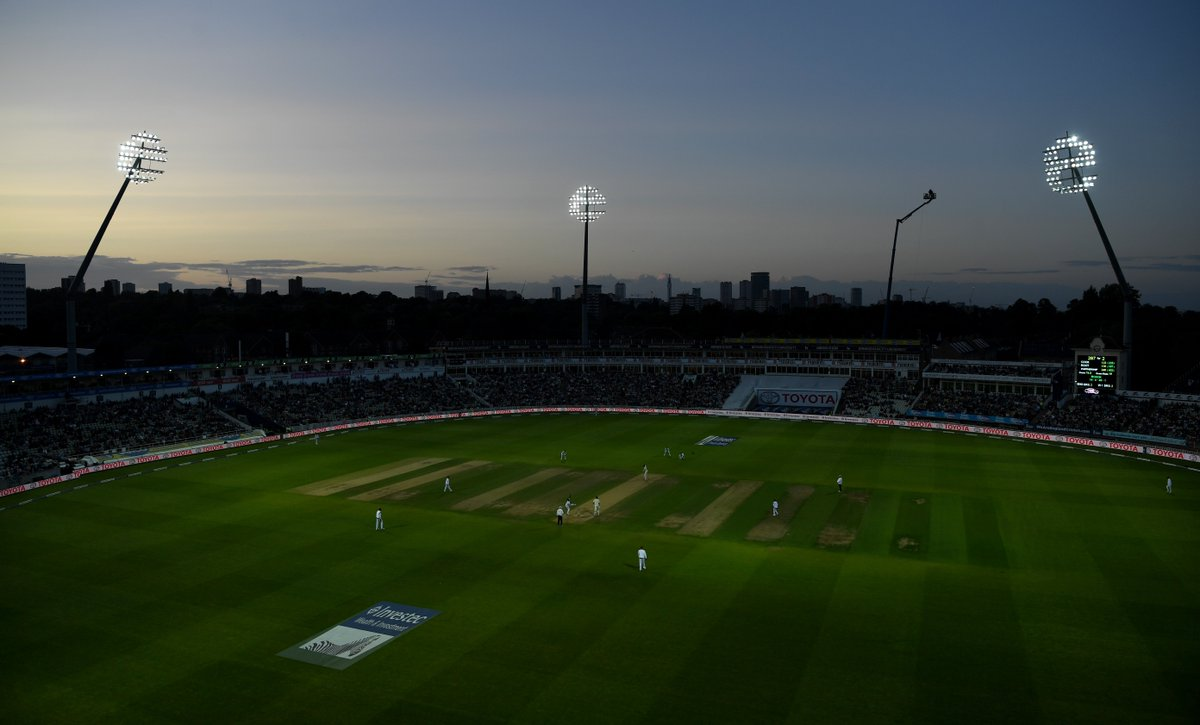 Cricket in whites, but under the lights! #ENGvWI https://t.co/5XbylEUK...