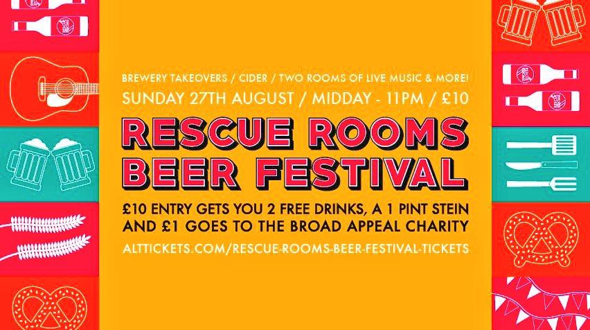 Date for the Diary - The @RescueRooms Beer Festival - Sunday 27th August #Nottingham   #BankHoliday   http:// bit.ly/2hCG60d  &nbsp;  <br>http://pic.twitter.com/iMEYDCKJnj