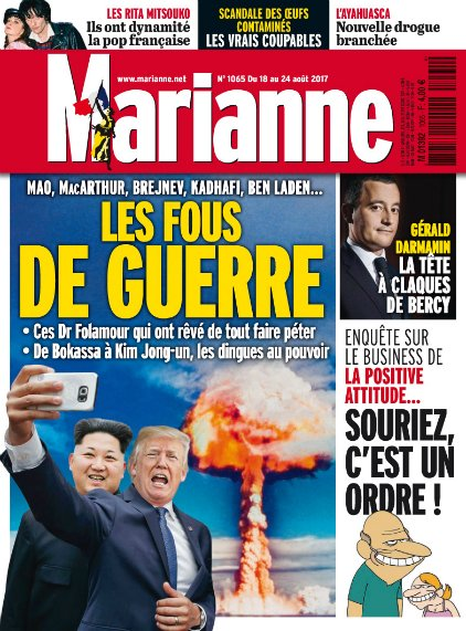 Marianne est arrivé en kiosques #VendrediLecture https://t.co/S9ohrm46...