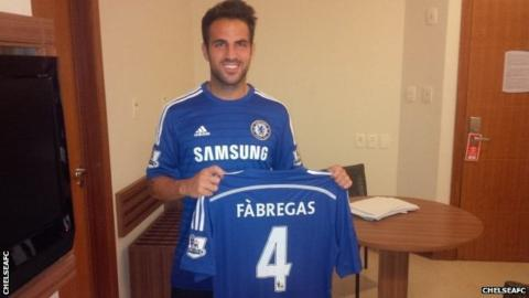 On this day: 2014 - Cesc Fabregas made his @ChelseaFC debut. #CFC #Chelsea @cesc4official<br>http://pic.twitter.com/OygwUkjKyP