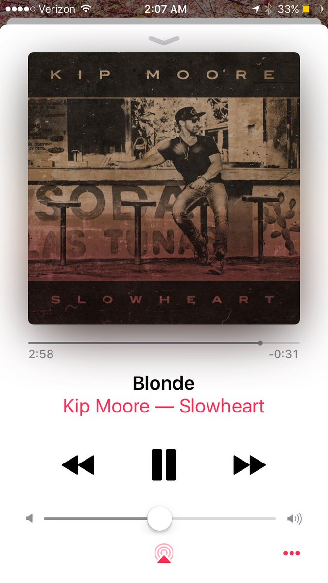 Missing out on new late night @KipMooreMusic for 8 am meetings said no one ever.  Cant get enough! #blonde #SLOWHEART<br>http://pic.twitter.com/GB9rPCm7J9