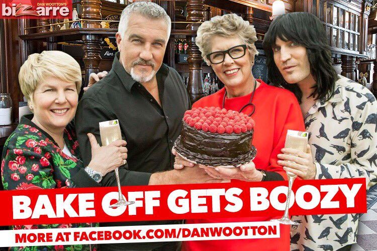 EXCLUSIVE Paul Hollywood admits #GBBO filming has turned into a boozy knees-up https://t.co/wI7KKx9Tlg https://t.co/DvAU2NoqLN