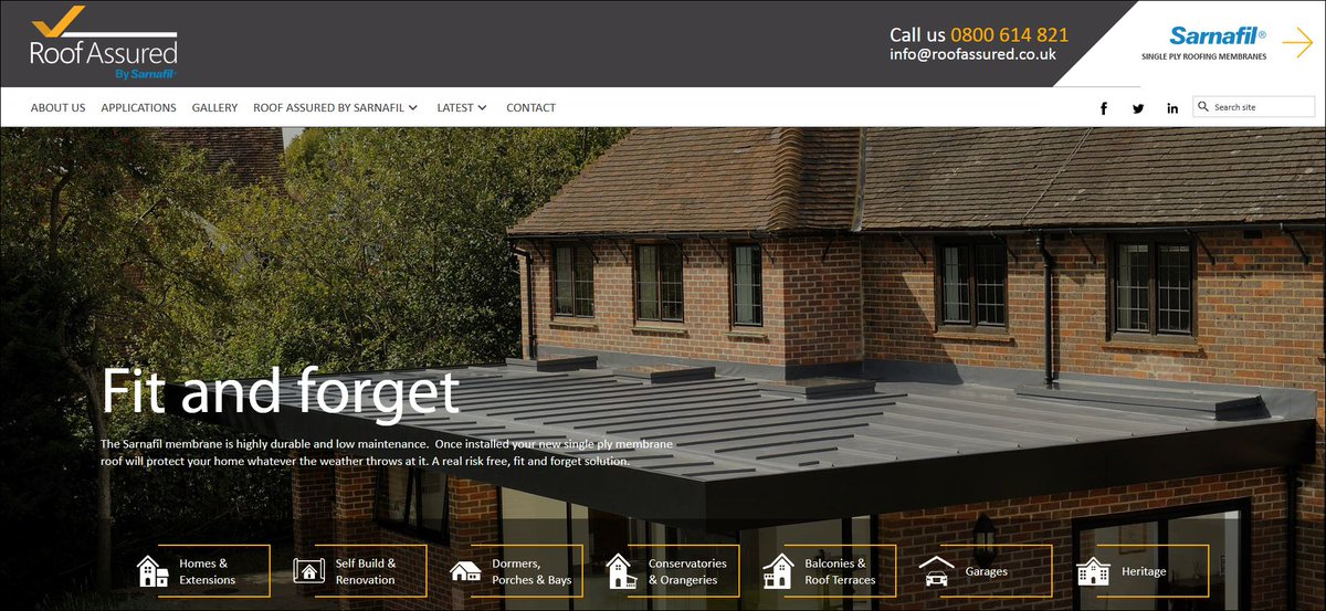 Have you seen our new website? Lots of information and pics #newwebsite #flatroofing #singleply   http:// roofassured.co.uk  &nbsp;  <br>http://pic.twitter.com/GYMJOAZxr6