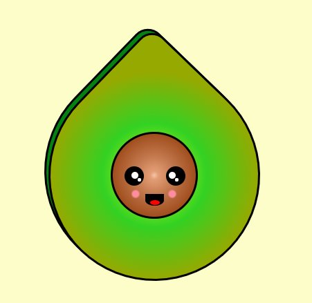 Happy #Avocado is on codepen&#39;s picked pens #CSS #dailycssimages  #100DaysOfCode #CodeNewbie #code #cute @CodePen thx  https:// codepen.io / &nbsp;  <br>http://pic.twitter.com/3B7fXBEDwU