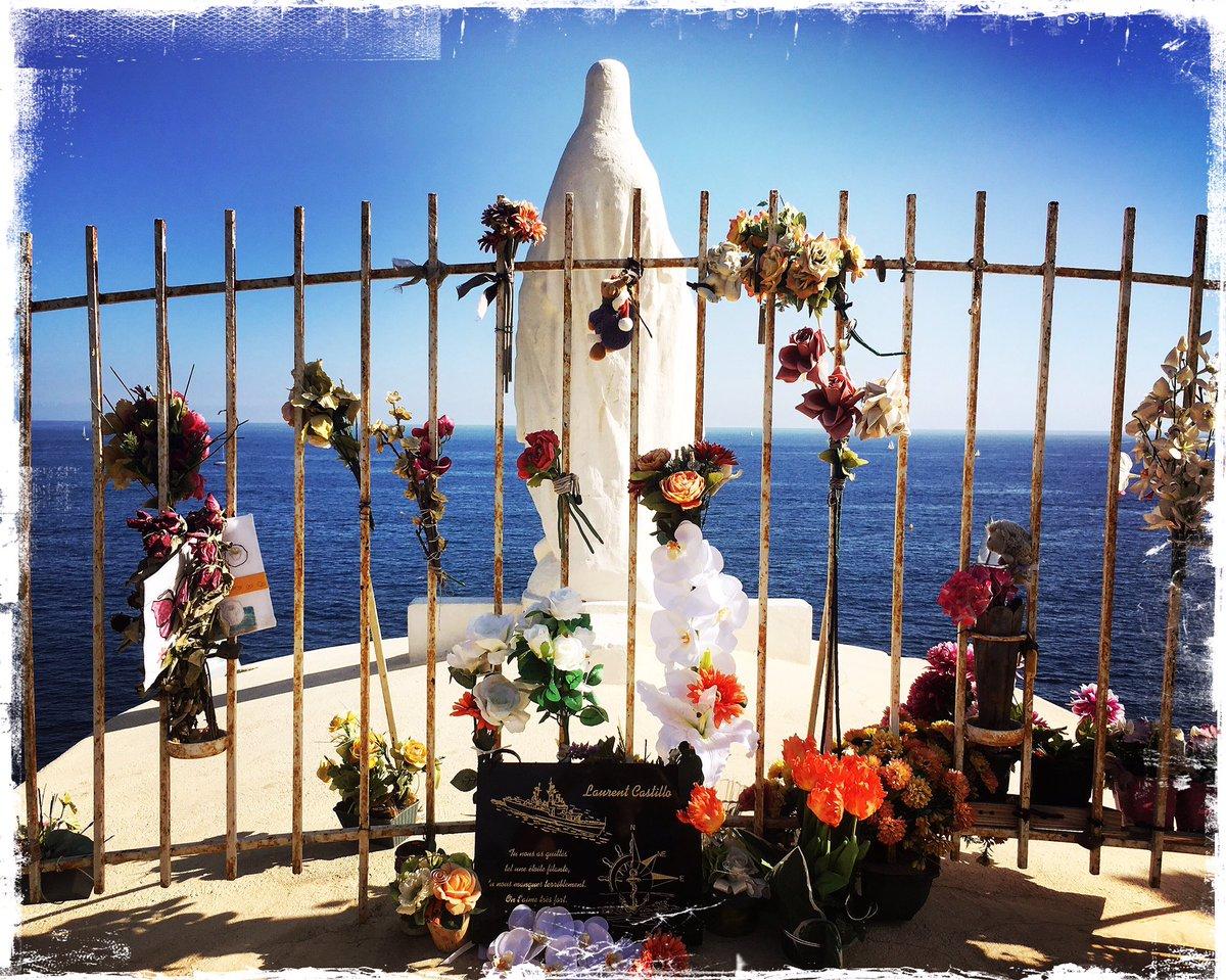 Virgin #CapFalcon #Toulon #Mediterranean piedsnoirs memorial #postcard @JuliRengeval @MariaHRWAfrica @JackieMay_ @carolineLS7 @ClaudeGuibal<br>http://pic.twitter.com/NvEFR2vv5c
