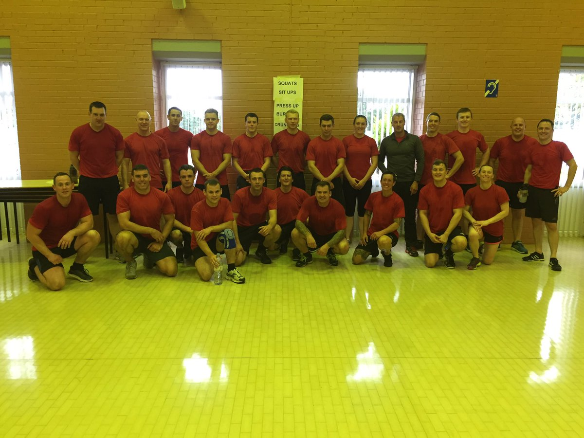 Great start to the day @LfrsStc with guest PTI @alma377 all recruits working hard as usual #firefit #FitnessFriday <br>http://pic.twitter.com/JpnJOosGBa