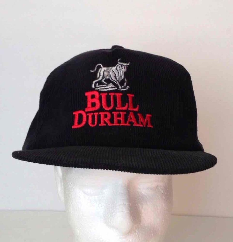 "Durham Bulls Hat: Humbly Hip On Twitter: ""Bull Durham Black Corduroy Hat Red"
