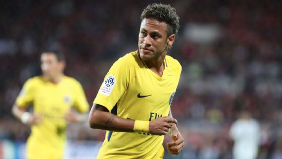 #Neymar eases into life at #PSG with impressive debut in #win at #Guingamp #HalaMadrid ...@neymarjr<br>http://pic.twitter.com/uGXFwR3gk3