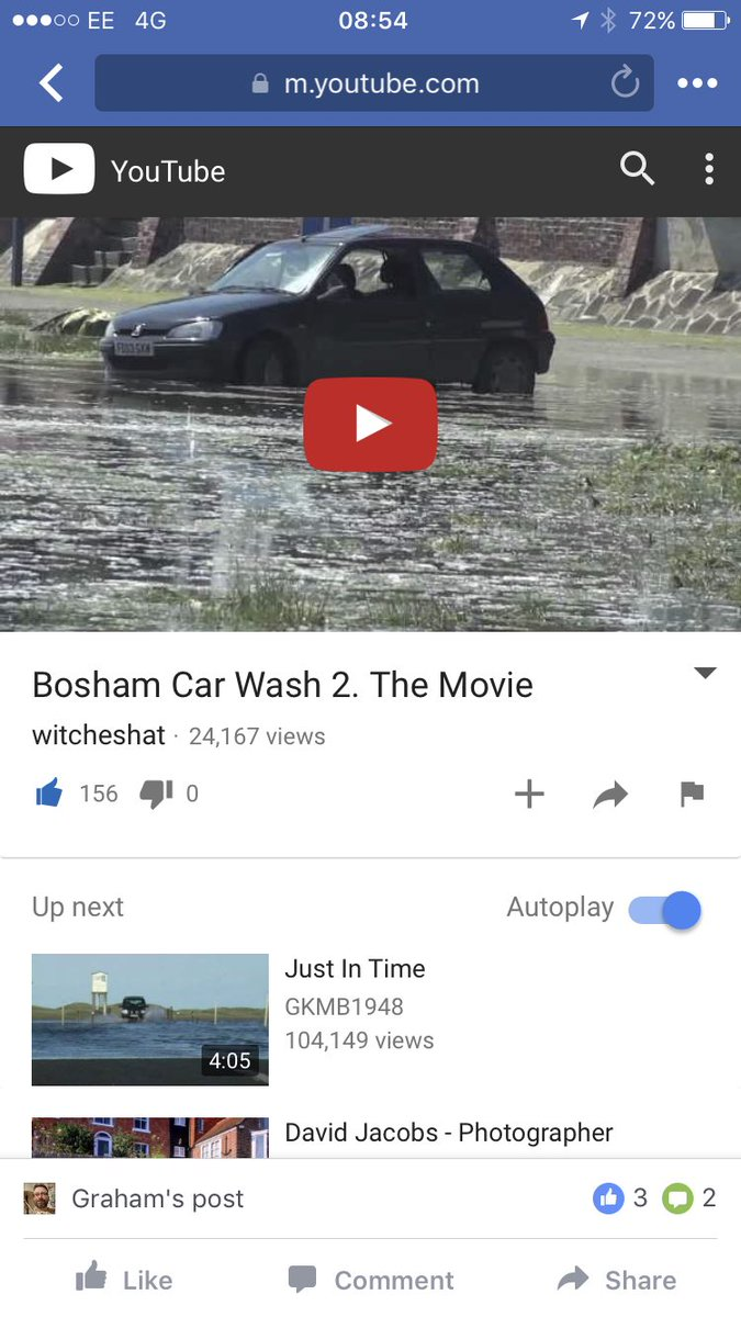 Priceless #Parking #Bosham #Tidal  where&#39;s my car gone! #BoshamCarWash  https://www. youtube.com/watch?v=Q2Qclc T6F-I&amp;sns=tw &nbsp; …  via @youtube<br>http://pic.twitter.com/Sa9zcEMLKa