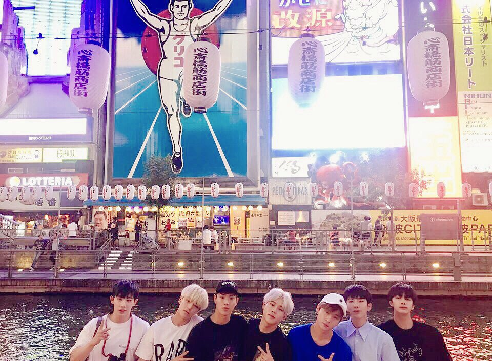 [#MONSTA_X] #몬스타엑스 in #OSAKA 일본에서의 짧은 자유...