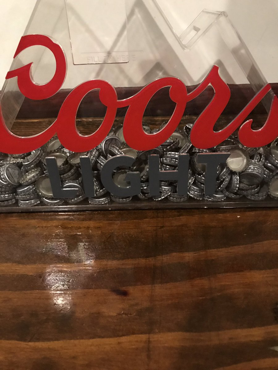 A few more bottle caps just added.  Drink more @coorspgh & help th...