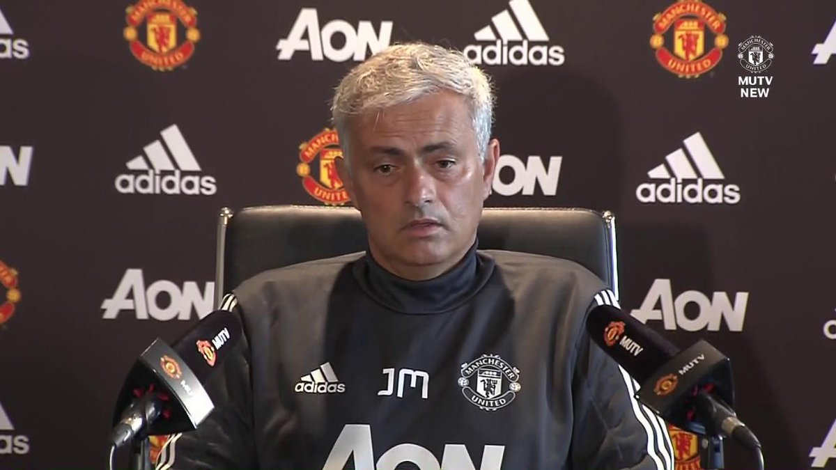 The boss discusses the confidence levels in the squad... #MUFC