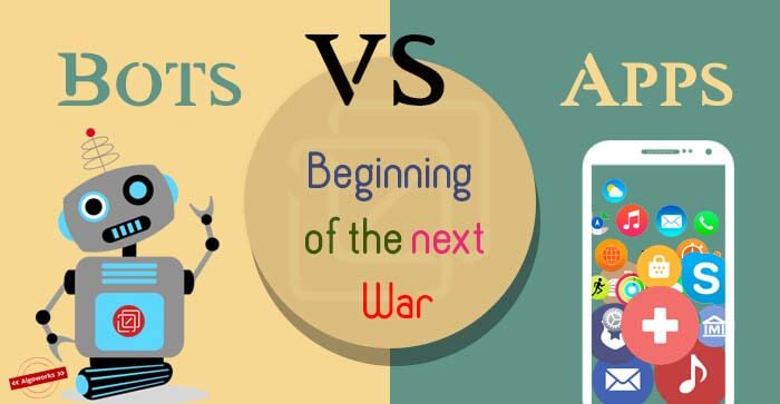 #Bots vs #Apps: Beginning Of The Next War  http://www. algoworks.com/blog/will-bots -be-killing-mobile-apps/ &nbsp; …  #MobileApps #Chatbots #Messengerbots <br>http://pic.twitter.com/zkCIf7nwds