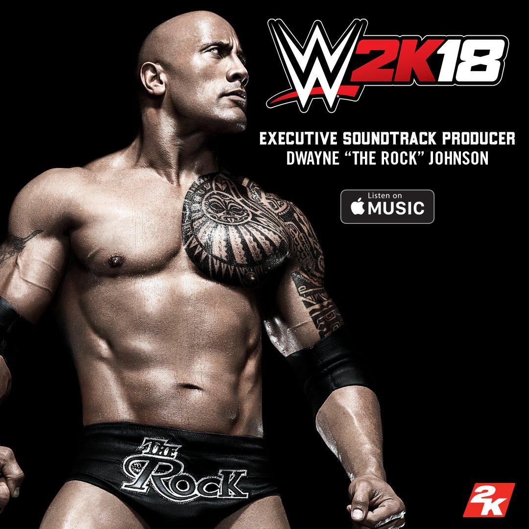 Объявлены саундтреки WWE 2K18